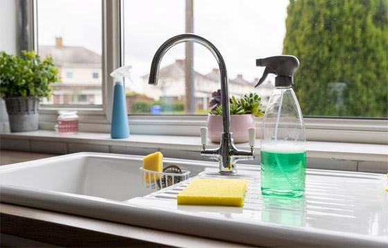 صورة رقم 2 - 20 حيلة بسيطة لإبقاء مطبخك نظيفا ومرتبا.. لن تأخذ منك أكثر من دقائق!