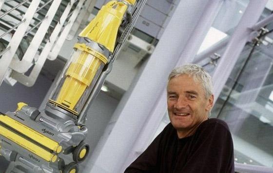 صورة رقم 6 - قصة المخترع البريطاني جيمس دايسون من حافة الإفلاس لمليارات الجنيهات