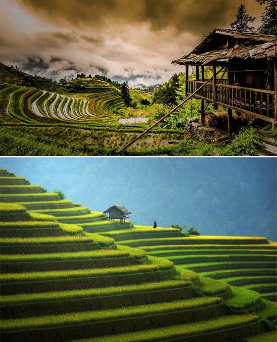 صورة رقم 4 - صور: تعرفوا على الأماكن الطبيعية الرائعة التي صنعها البشر على مر السنين