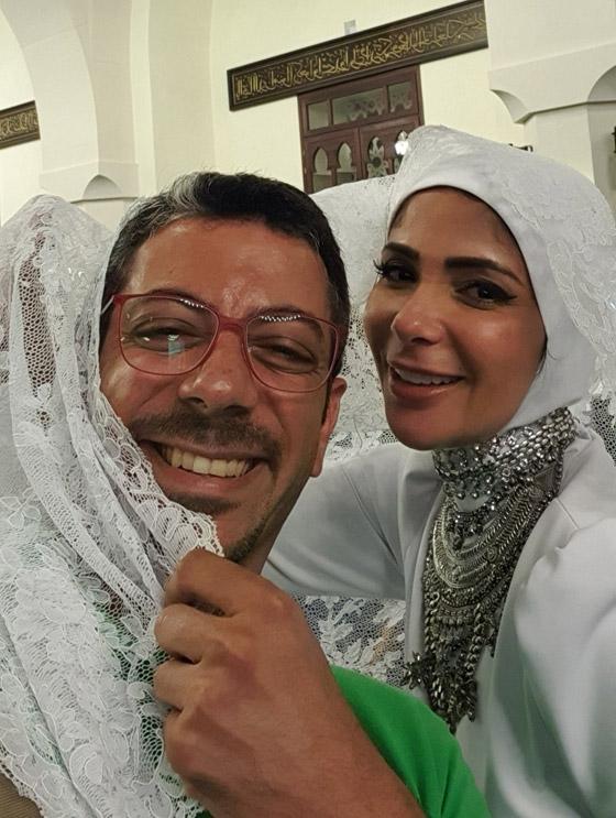 صورة رقم 2 - مصمم فستان زفاف منى زكي في