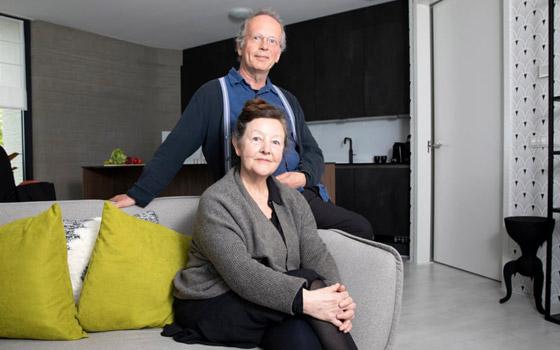 صورة رقم 2 - فيديو وصور: زوجان ينتقلان لأول منزل مطبوع ثلاثي الأبعاد بالكامل