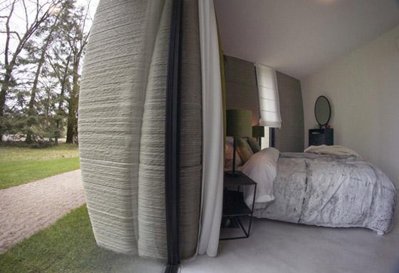 صورة رقم 14 - فيديو وصور: زوجان ينتقلان لأول منزل مطبوع ثلاثي الأبعاد بالكامل