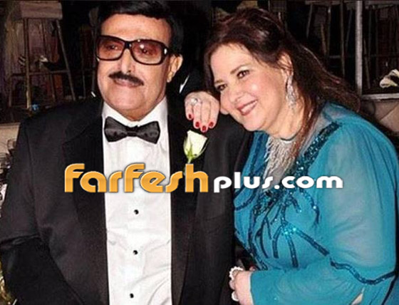 صورة رقم 15 - صور نادرة من زفاف سمير غانم ودلال عبد العزيز وأيام الخطوبة