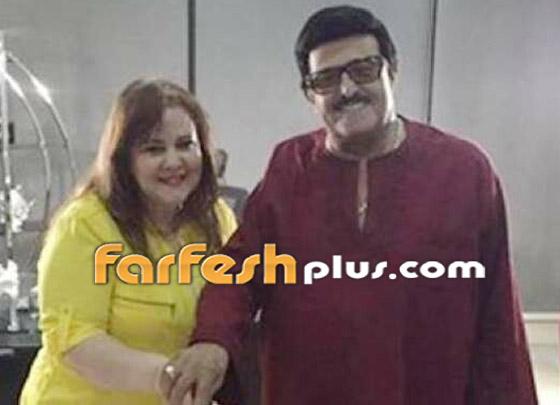 صورة رقم 10 - صور نادرة من زفاف سمير غانم ودلال عبد العزيز وأيام الخطوبة