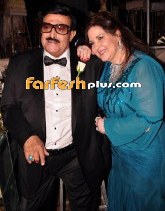صورة رقم 8 - صور نادرة من زفاف سمير غانم ودلال عبد العزيز وأيام الخطوبة