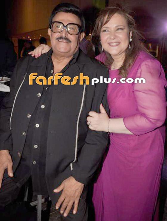 صورة رقم 6 - صور نادرة من زفاف سمير غانم ودلال عبد العزيز وأيام الخطوبة