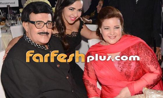 صورة رقم 14 - صور نادرة من زفاف سمير غانم ودلال عبد العزيز وأيام الخطوبة