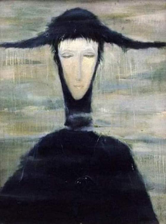 صورة رقم 1 - لوحة سيدة المطر.. ولماذا يعيدها مجددا كل من يشتريها؟