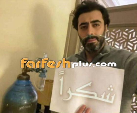 صورة رقم 2 - صور: باسم ياخور بوجه شاحب يصارع كورونا في المستشفى ويعاني بصمت! صدمة كبيرة لجمهوره!