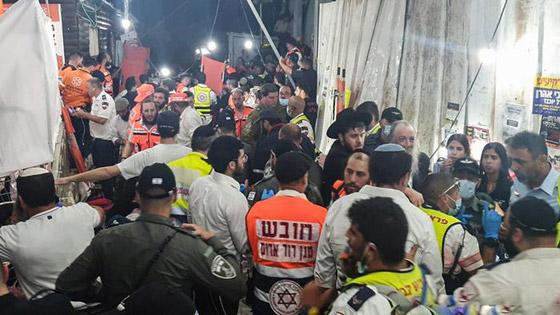 صورة رقم 9 - يوم حداد عام في إسرائيل على ضحايا حادث التدافع المأساوي