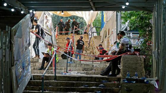 صورة رقم 10 - يوم حداد عام في إسرائيل على ضحايا حادث التدافع المأساوي