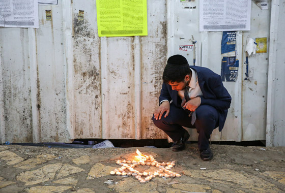 صورة رقم 15 - يوم حداد عام في إسرائيل على ضحايا حادث التدافع المأساوي