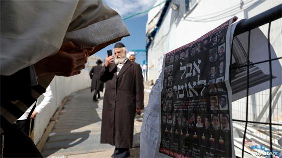 صورة رقم 18 - يوم حداد عام في إسرائيل على ضحايا حادث التدافع المأساوي