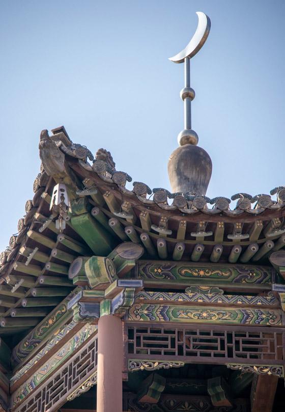 صورة رقم 3 - مسجد داتونج فى الصين.. مبنى رائع يدمج الفن المعماري الإسلامي باللمسات الصينية