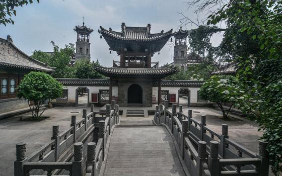 صورة رقم 4 - مسجد داتونج فى الصين.. مبنى رائع يدمج الفن المعماري الإسلامي باللمسات الصينية
