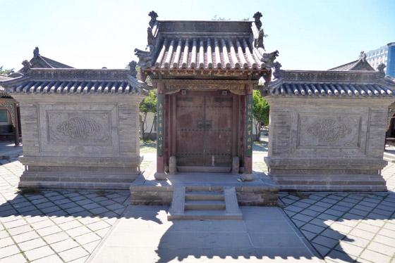 صورة رقم 9 - مسجد داتونج فى الصين.. مبنى رائع يدمج الفن المعماري الإسلامي باللمسات الصينية