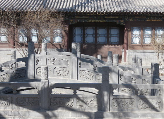 صورة رقم 16 - مسجد داتونج فى الصين.. مبنى رائع يدمج الفن المعماري الإسلامي باللمسات الصينية