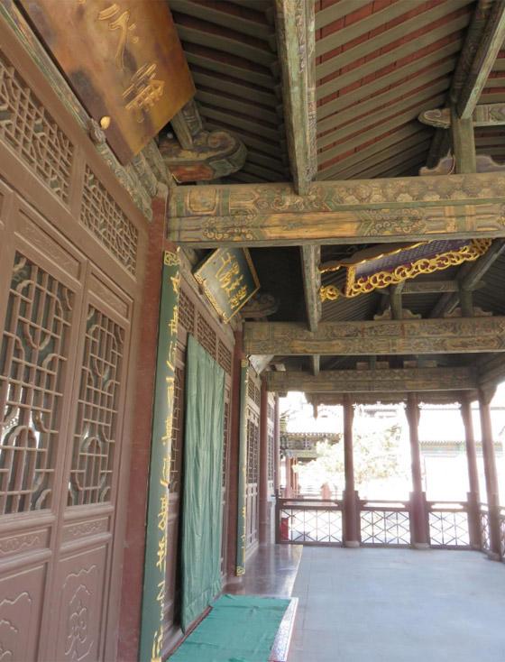 صورة رقم 19 - مسجد داتونج فى الصين.. مبنى رائع يدمج الفن المعماري الإسلامي باللمسات الصينية