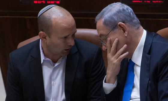 صورة رقم 8 - نتنياهو يوافق على التنازل عن رئاسة الحكومة لنفتالي.. ووضع شروطه