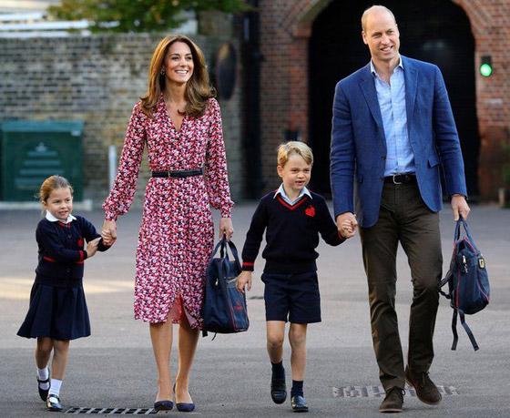 صورة رقم 8 - طبق الأصل عن أبيها! الأمير وليام وزوجته يحتفلان بميلاد الأميرة شارلوت