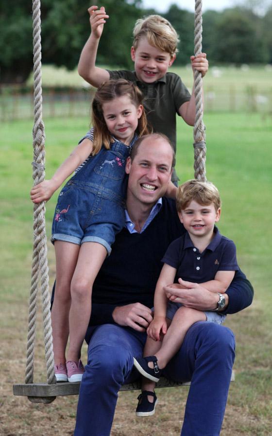 صورة رقم 9 - طبق الأصل عن أبيها! الأمير وليام وزوجته يحتفلان بميلاد الأميرة شارلوت