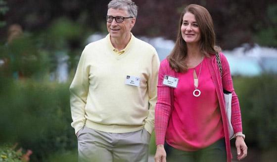 صورة رقم 6 - طلاق بيل ومليندا غيتس..