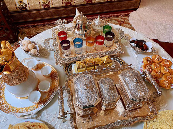 صورة رقم 2 - تحضيرات العيد: 6 قطع ذهبية لمائدة عيد الفطر