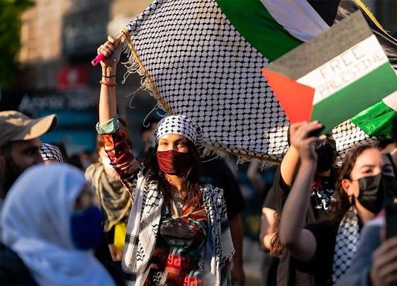 صورة رقم 6 - صور: بيلا حديد تعبر من جديد عن حبها لوطنها فلسطين