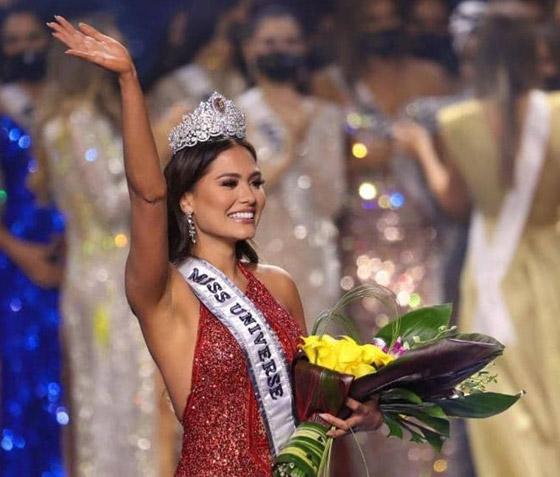 صورة رقم 4 - فيديو وصور: مكسيكية تفوز بلقب ملكة جمال الكون 2021