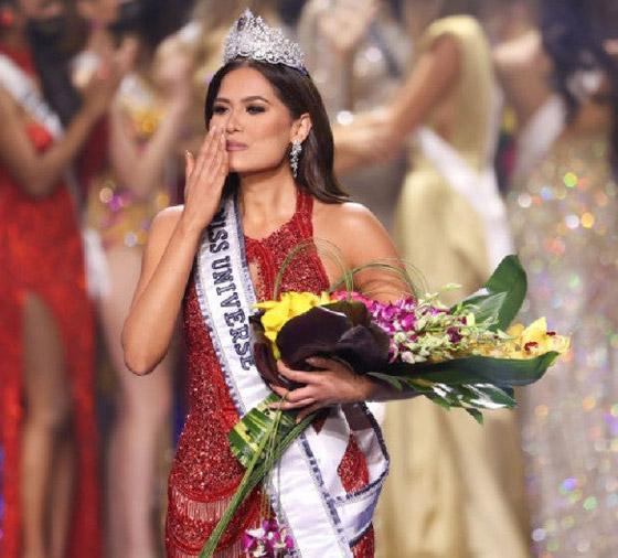 صورة رقم 6 - فيديو وصور: مكسيكية تفوز بلقب ملكة جمال الكون 2021