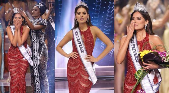 صورة رقم 1 - فيديو وصور: مكسيكية تفوز بلقب ملكة جمال الكون 2021