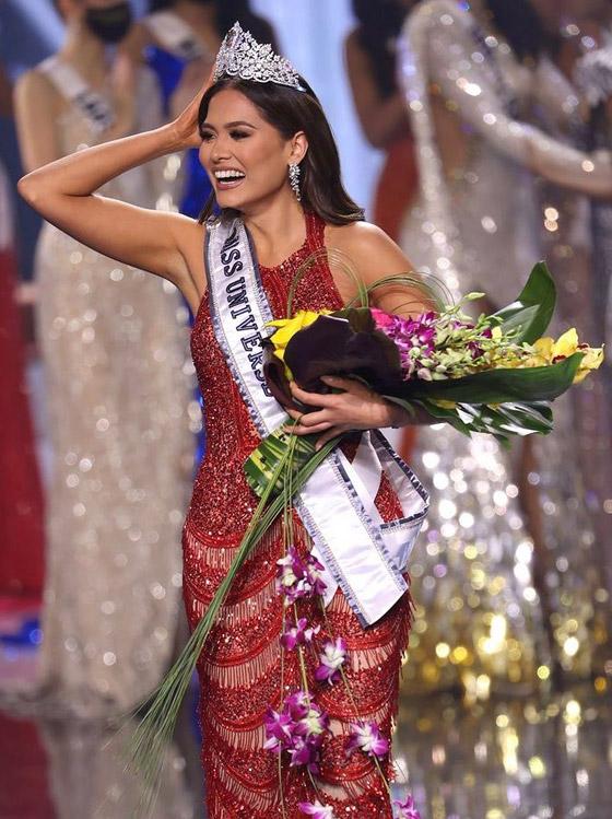 صورة رقم 3 - فيديو وصور: مكسيكية تفوز بلقب ملكة جمال الكون 2021