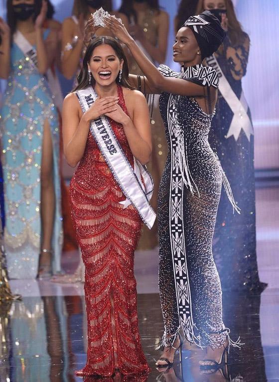 صورة رقم 13 - فيديو وصور: مكسيكية تفوز بلقب ملكة جمال الكون 2021