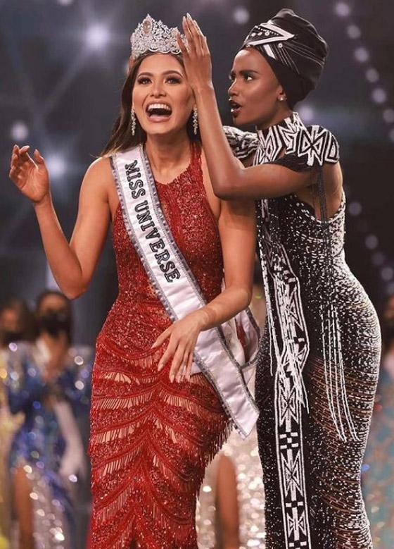صورة رقم 16 - فيديو وصور: مكسيكية تفوز بلقب ملكة جمال الكون 2021