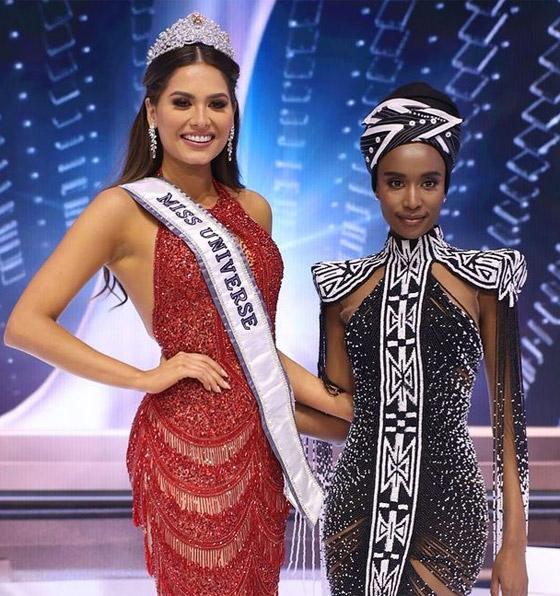 صورة رقم 17 - فيديو وصور: مكسيكية تفوز بلقب ملكة جمال الكون 2021