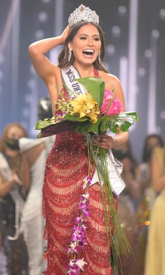 صورة رقم 18 - فيديو وصور: مكسيكية تفوز بلقب ملكة جمال الكون 2021