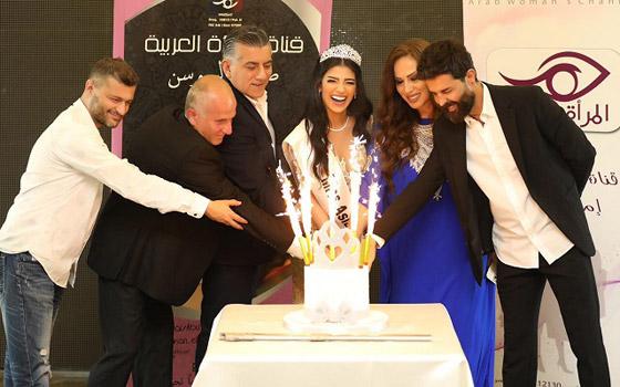 صورة رقم 2 - فيديو وصور سنا عطية.. ملكة جمال آسيا سوريا