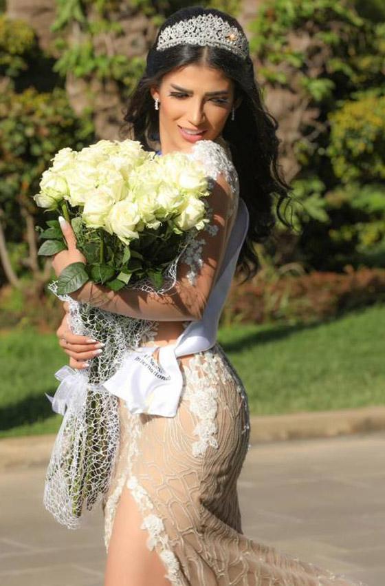 صورة رقم 4 - فيديو وصور سنا عطية.. ملكة جمال آسيا سوريا