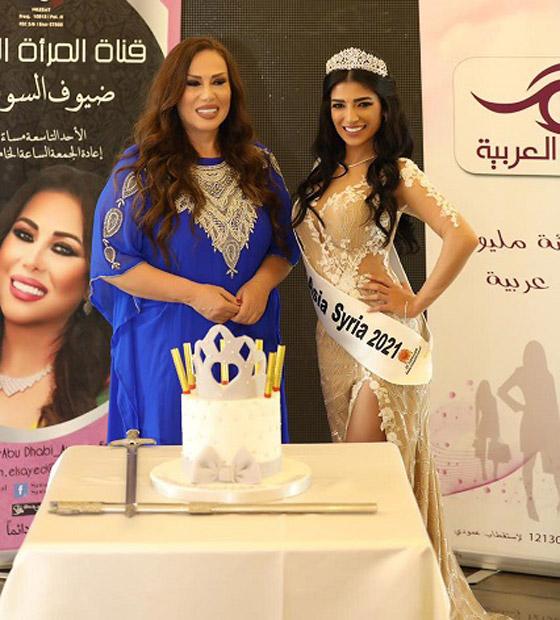صورة رقم 5 - فيديو وصور سنا عطية.. ملكة جمال آسيا سوريا