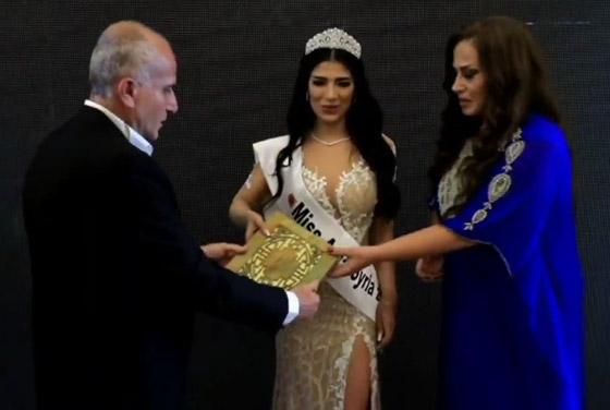 صورة رقم 7 - فيديو وصور سنا عطية.. ملكة جمال آسيا سوريا