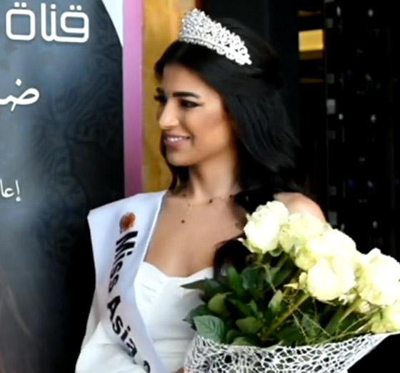 صورة رقم 9 - فيديو وصور سنا عطية.. ملكة جمال آسيا سوريا