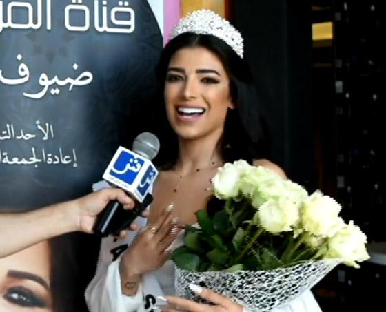 صورة رقم 10 - فيديو وصور سنا عطية.. ملكة جمال آسيا سوريا