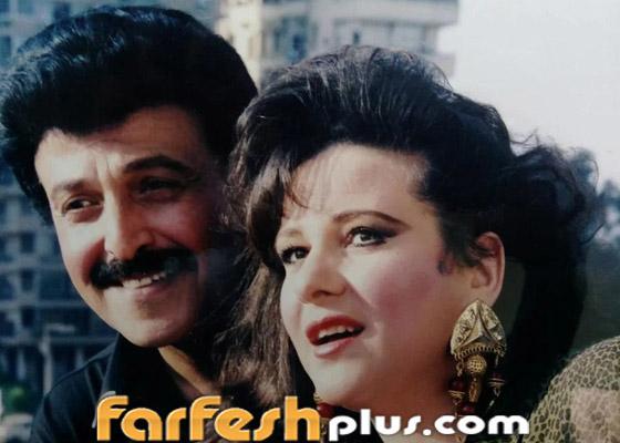 صورة رقم 7 - صور نادرة من زفاف سمير غانم ودلال عبد العزيز وأيام الخطوبة