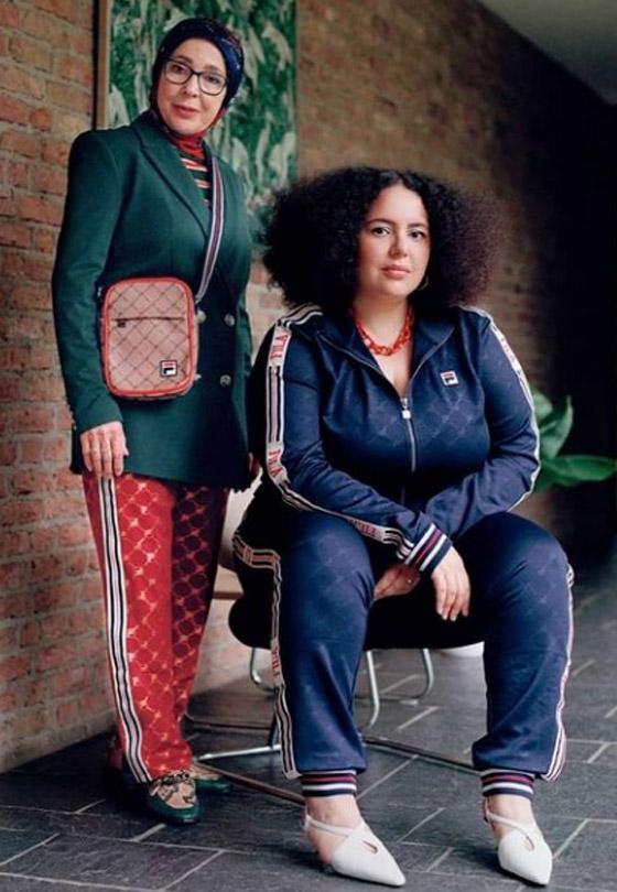 صورة رقم 8 - شابة مغربية تبدع وتحول والدتها المحجبة المصابة بسرطان الثدي لأيقونة موضة