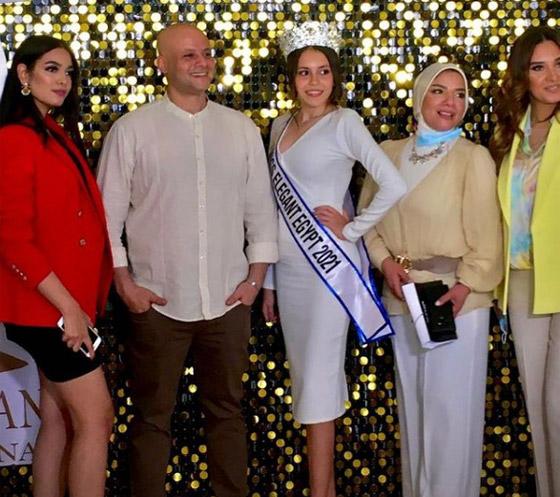 صورة رقم 2 - فيديو وصور: تتويج شدا حسام ابنة الـ17 عاما بلقب ملكة جمال الأناقة