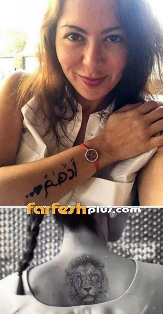 صورة رقم 1 - صور نجمات عربيات وعالميات بالوشم (تاتو): موضة أم جرأة أم أناقة؟