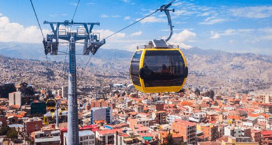 صورة رقم 2 - بالصور: إليكم أطول 10 تلفريكات في العالم لتجربة غنية بالمشاهد الساحرة
