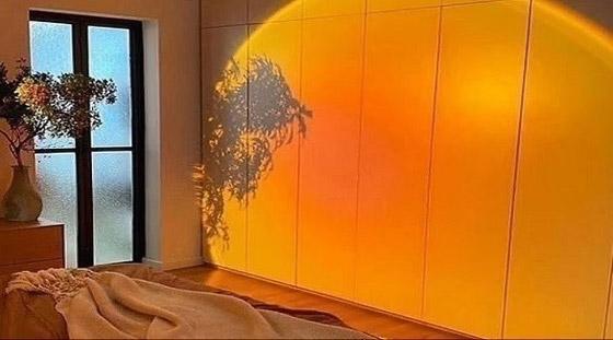 صورة رقم 1 - مصابيح منزلية تحاكي غروب الشمس
