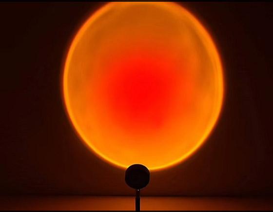 صورة رقم 3 - مصابيح منزلية تحاكي غروب الشمس