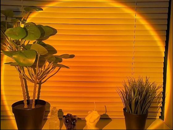 صورة رقم 5 - مصابيح منزلية تحاكي غروب الشمس